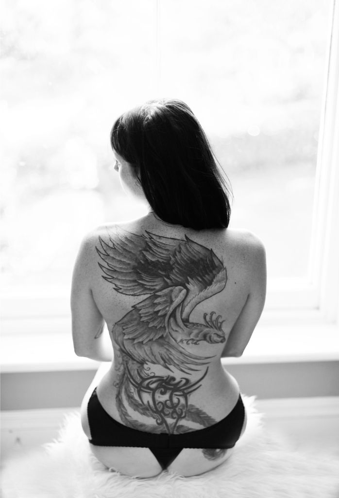 Tattoo Photography, Creative Portrait Photographer, Michelle Nyulassie, South East, UK