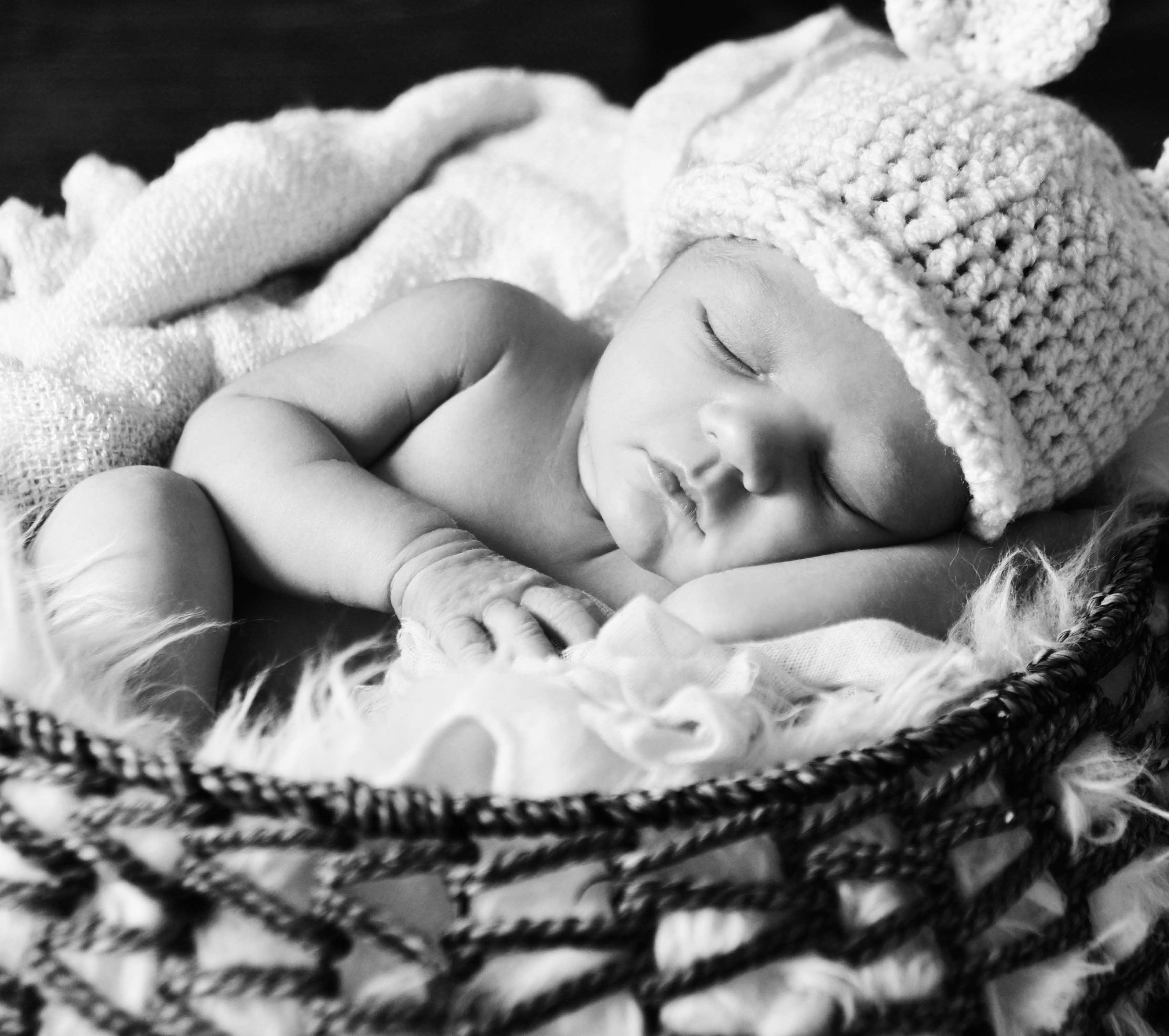 Black and White Baby Photography, Eclectic Photography, Brighton, South East