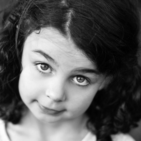 Black and white childrens photography, brighton UK, East Sussex,